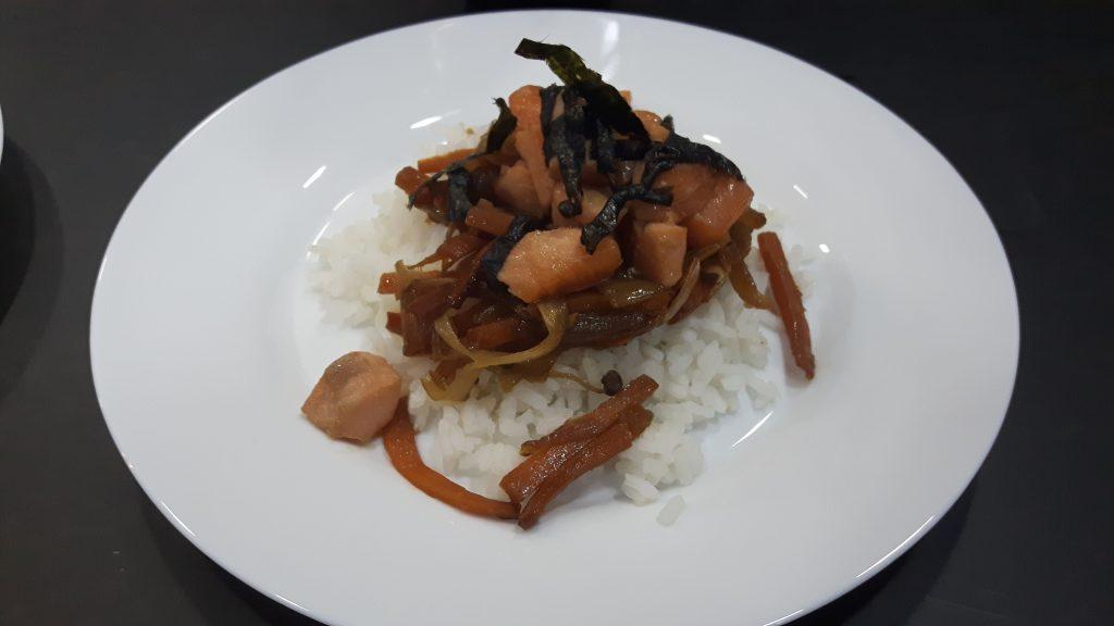 Delicia japonesa sin gluten