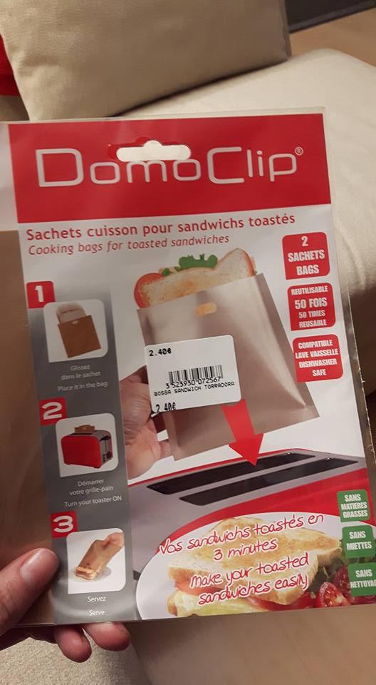 Bolsa Domo Clip